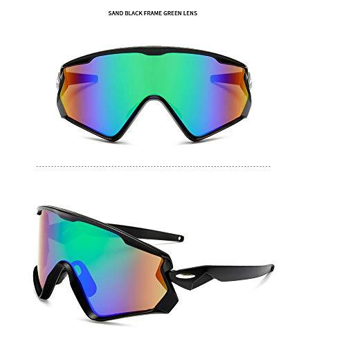 NAN® Sport Sonnenbrillen Outdoor-Männer Und Frauen Polarisierten Sport Sonnenbrillen Jugend Angeln Baseball Bike Laufen Fahren Golf Motorrad Brille,Purple