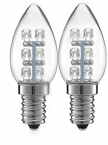 Alfa Lighting 15Lumen LED 0.5W (5W) C7Night Light Bulb 2900K