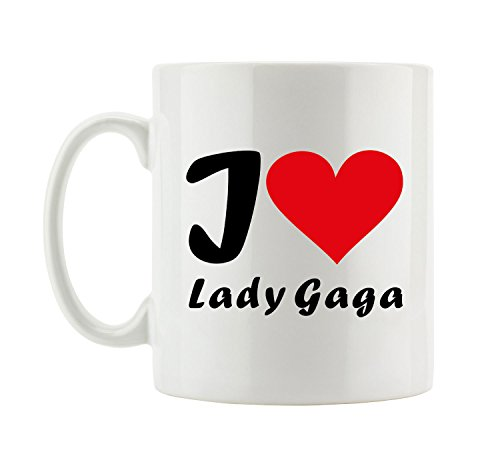 I love Lady Gaga Fun Tasse