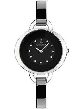 Pierre Lannier Damen-Armbanduhr Analog Quarz Schwarz 082H639