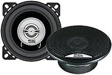 Mac Audio 11035021Edition 102, 2Vías coaxial Instalación altavoz negro