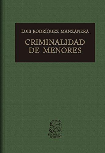 Descargar Libro Criminalidad de menores de Luis Rodríguez Manzanera