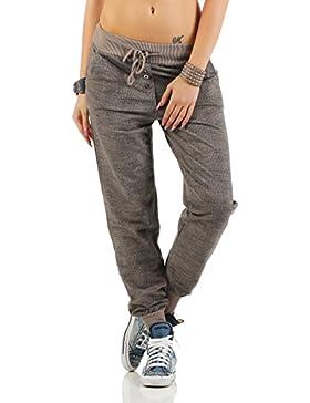 ZARMEXX de las mujeres de moda los pantalones deportivos sudor pantalones anchos novio pantalones casuales de...