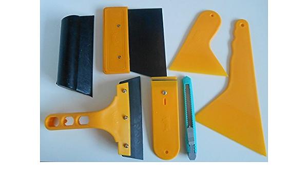 Folien Rakel Set Tönungsfolie Sonnenschutz Folie Montage Abziehen Werkzeug Baumarkt