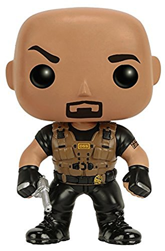 Funko Pop Movies Fast Furious Luke Hobbs Vinyl Figure FUNKO PROTECTIVE CASE