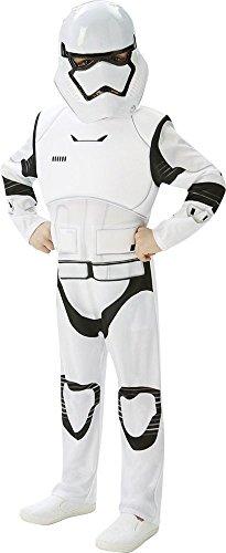 Kind Kostüm Stormtrooper - Star Wars 7 Kinder Kostüm Stormtrooper Deluxe Karneval Gr.5-6 J.