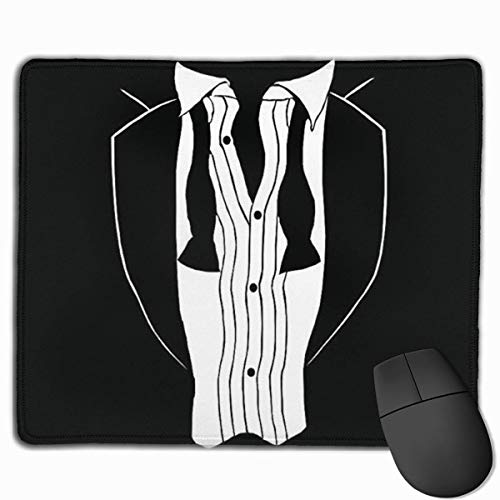 Tuxedo Personalized Design Mauspad Gaming Mauspad with Stitched Edges Mousepads, Non-Slip Rubber Base, 300 x 250 x 3 mm Thick - Best Gift Idea