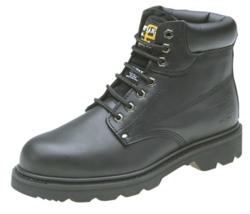 Grafters Padded Safety Boot, nero (Black), 39 EU