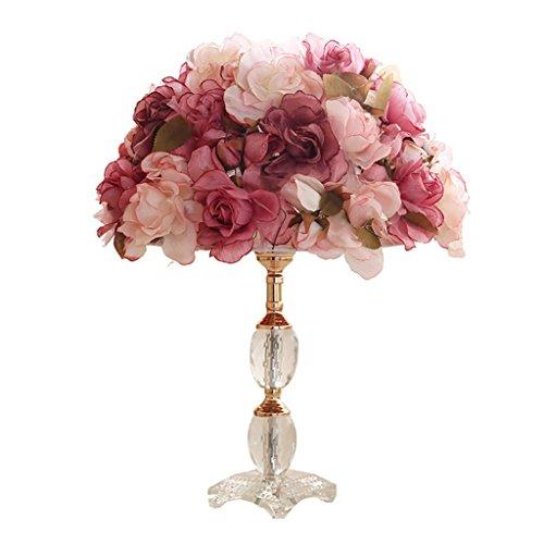 Tischleuchte moderne kunst kristall lampe, prinzessin mädchen raumdekoration lampe romantik rot...