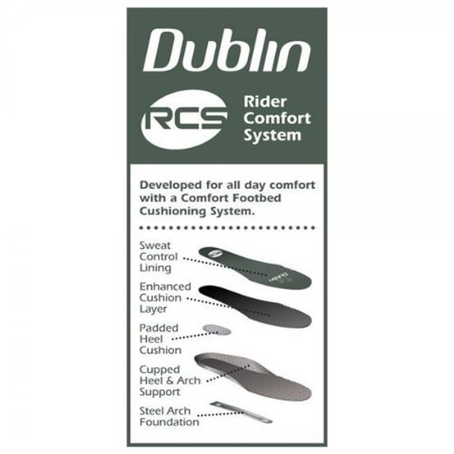 Dublin , Herren Reitsportschuhe Braun