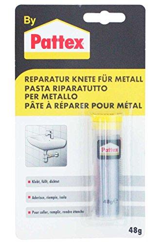 Pattex Reparatur Knete für Metall - Klebt, Füllt, Dichtet, 48g