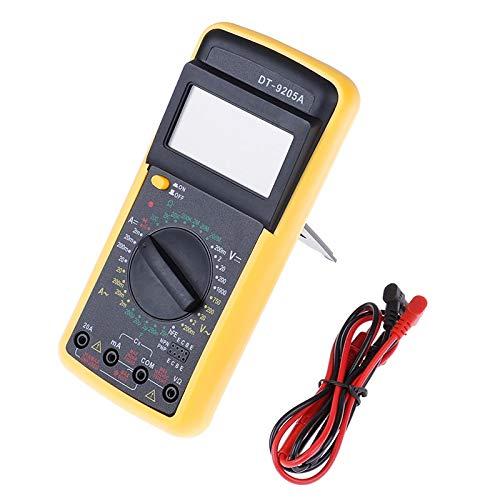 Terrarum Digital DT9205A Multimeter LCD AC/DC Amperemeter Widerstand Kapazität Tester