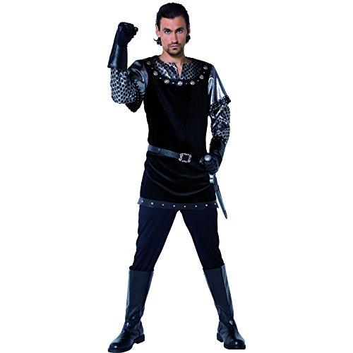 Sheriff Kostüme Erwachsene Von Nottingham (Smiffys, Herren Sheriff von Nottingham Kotüm, Tunika, Handschuhe, Hose und Gürtel, Größe: M,)
