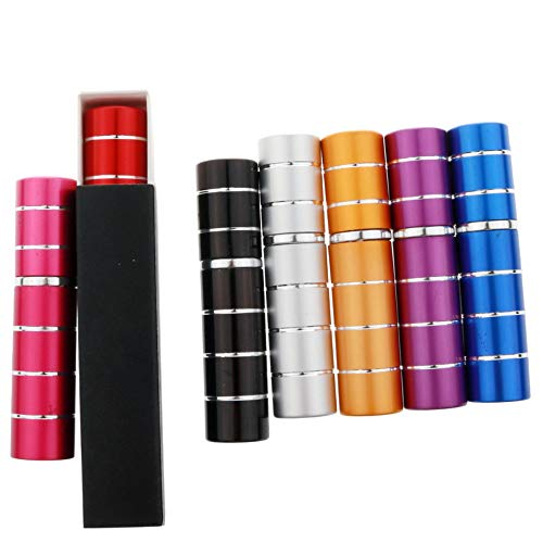 RSbottle Parfümflasche Parfum Flakon Parfümzerstäuber 7 STÜCKE * hochwertige 5 ml parfüm sub-Flasche tangential prozess aluminiumrohr sprühflasche Glas Liner zähler Probe -