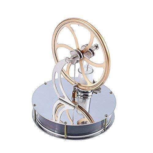 ZJchao(TM) Neue Niedertemperatur-Stirlingmotor pädagogisches Spielzeug Kit Geschenk (Tee-und Wasserkocher Ruhigen)