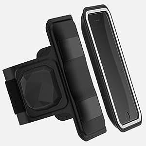Brassard de Sport ❤ Cardio Shapeheart 🇲🇫- Cardiofréquencemètre + Pochette détachable magnétique - Compatible avec Iphone, Samsung, Huawei, Honor, Etc.