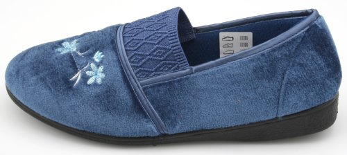 Slumberz, Pantofole donna Blu (blu)