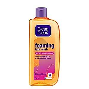 Clean & Clear Foaming Facewash for Oily Skin, Brown, 240ml