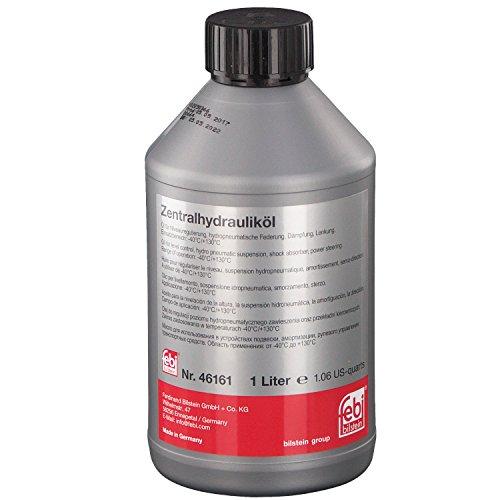 Preisvergleich Produktbild febi bilstein 46161 Hydrauliköl für die Zentralhydraulik, Servolenkung und Niveauregulierung (grün) 1 Liter