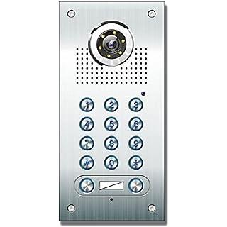 Anthell Electronics AE Farb-Videotürsprechanlage m. Code 2 Fam.