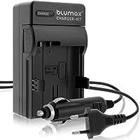 Blumax EN-EL15 Ladegerät | passend zu D7000 D7100 D7200 D500 D600 D610 D750 D800 D810 1 V1 Nikon