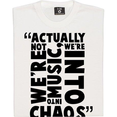 T34 Steve Jones Chaos Quote Kids' T-Shirt