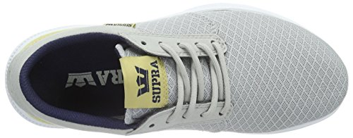Supra - Hammer Run, Scarpe da ginnastica Unisex – Adulto Grigio (Grau (GREYVIOLET / HEMP - WHITE GRV))