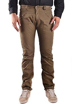 Daniele Alessandrini Hombre MCBI086596O Verde Algodon Jeans