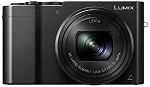 Panasonic Lumix DMC-TZ100EGK Fotocamera, Sensore 1'' 10X Zoom Post Focus, 4K Photo & 4K Video, Nero