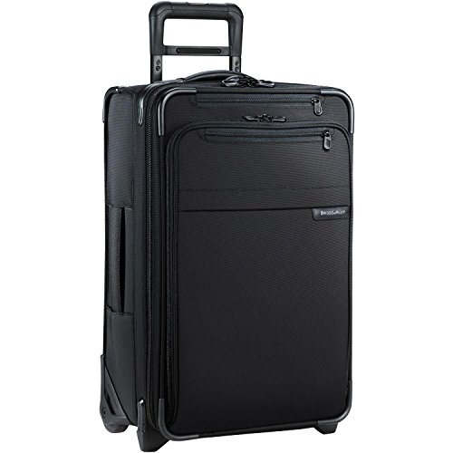 Briggs & Riley Baseline Domestic Carry On de 2 ruedas, 55, 9 cm ampliable, Unisex, negro, talla única