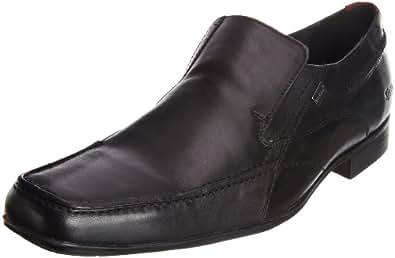 Kickers Men's Osterb Seam Lthr Am Black Shoe 1-10106 6.5 UK, 40 EU