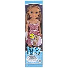 Nancy - Un día con Amigas, muñeca rubia con vestido rosa (Famosa 700013444)