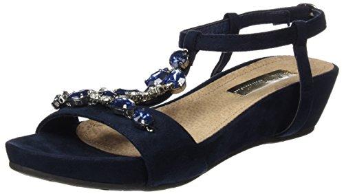Xti 030662, Sandales femme Bleu
