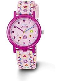 Prinzessin Lillifee Mädchen-Armbanduhr Analog Quarz Textil PLFU/11