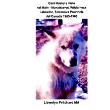 Cani Husky e viste nel Nain - Nunatsiavut, Wilderness Labrador, Terranova Provincia del Canada 1965-1966: Album Fotografici