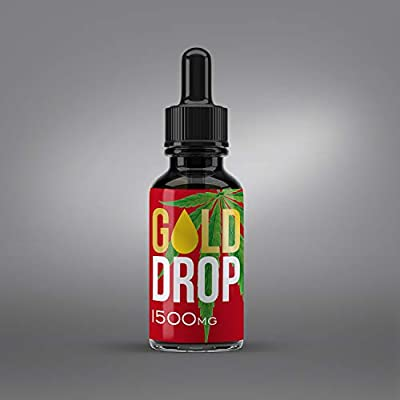 Hemp Oil Drops 10% 1000MG 10ml | Full Spectrum Co2 Extracted | Help Reduce Stress, Anxiety and Pain | Anti-inflammatory | 100% Natural Ingredients | Vegan Friendly | GMO Free from GoldStarHerbals