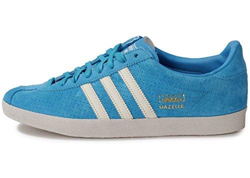 adidas Gazelle Og ginnastica da uomo Blau (Solar Blue2 S14/Chalk White/Pearl Grey S14)