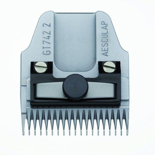 Testina di ricambio per tosatrice Ehaso Aesculap GT 742, altezza di taglio 2 mm