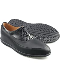 Cathcart Elliot Waterproof Rubber Overshoes / Galoshes with ribbed thick rubber sole