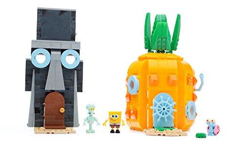 Mattel Mega Bloks CNF69 - SpongeBob Schwammkopf - Böse Nachbarn Set, Bau- und Konstruktionsspielzeug