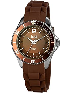 Just Watches Damen-Armbanduhr XS Analog Quarz Kautschuk 48-S3861-BR
