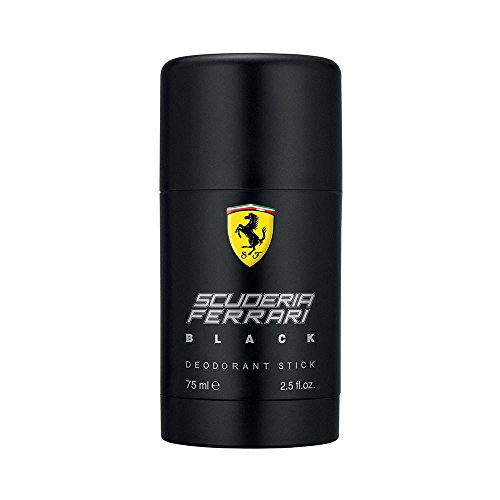 Ferrari Scuderia Black Deodorante Stick, 75 ml - 1 Unità