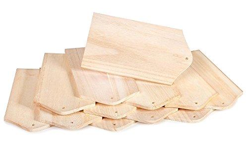 VBS Großhandelspackung 12 Frühstücksbrettchen Holzbrettchen Holz Schneidebrett