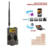 12MP 1080P HD Game & Trail Hunting Camera No Glow Infrared Scouting Camera