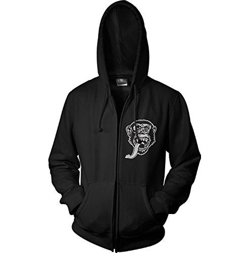 officially-licensed-merchandise-gmg-dallas-texas-zipped-hoodie-black-medium
