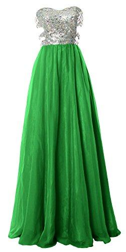 MACloth - Robe - Ajourée - Sans Manche - Femme Vert - Vert