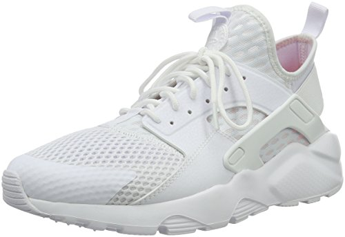 Nike Herren Air Huarache Run Ultra BR Fitnessschuhe Weiß White, 45 EU