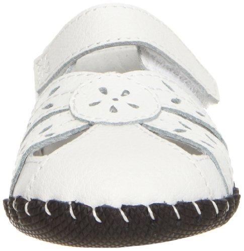 Pediped Daphne, Premiers pas Sandales Bébé Fille Blanc (White)