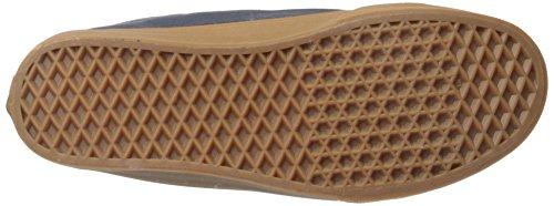 Vans Sk8-Hi Reissue Zip, Sneakers Hautes Mixte Adulte Bleu (Hiking navy/gum)