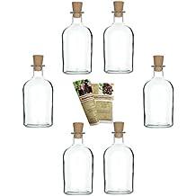 suchergebnis auf f r glasflaschen mit korken 250ml. Black Bedroom Furniture Sets. Home Design Ideas